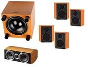 Новый комплект акустики wharfedale 5.1