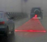 Лазерная противотуманная полоса безопасности,  стоп линия