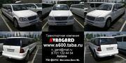 Прокат лимузина Mercedes-Benz ML белого цвета для свадьбы