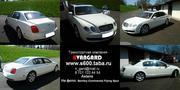 Аренда  Bentley Continental Flying Spur белого цвета для люб