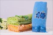 Актобе, Уральск Махровые полотенца 35х 75, 90г, цена:160тг изУрумчи Китай
