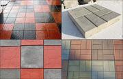 Продажа качественной тротуарной плитки и брусчатки  в Астане.