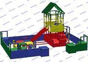 R-KIDS: Детская игровая площадка KDP-006