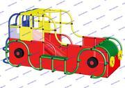 """R-KIDS: Детский/игровой комплекс из конструктора """"Машина"""" KMM-003"""