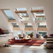 Velux,  мансардное панорамное окно