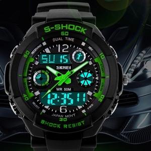 Водонепроницаемые часы s-shock