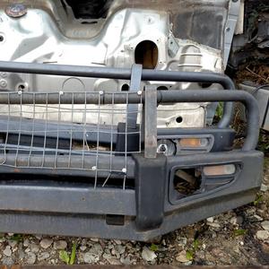 Силовой бампер на  Toyota Land Cruiser Prado 120