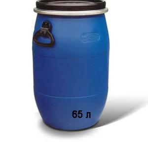 Продам бочки пластиковые б/у на 65 литров
