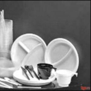 одноразовая посуда в Алматы