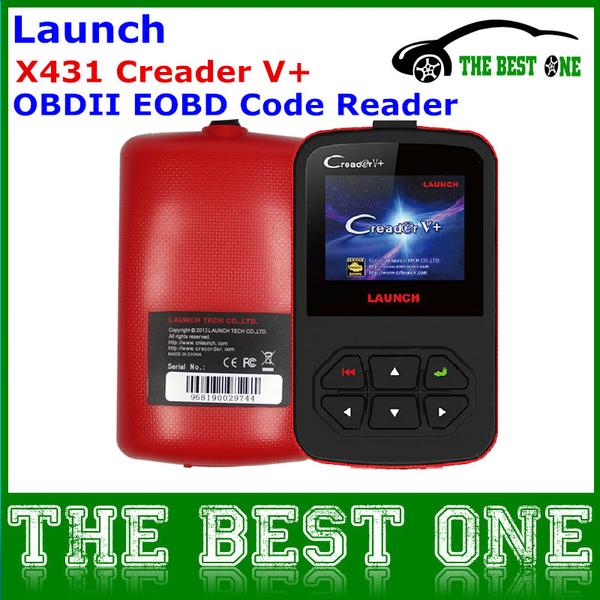 оригинал Launch-x431 Creader V +,  на русском,  профессиональный сканер