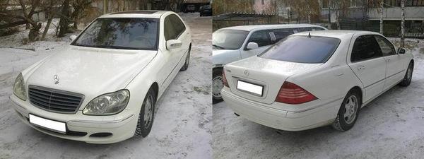Аренда  Mercedes-Benz G55 белого/черного цвета для любых мероприятий 22