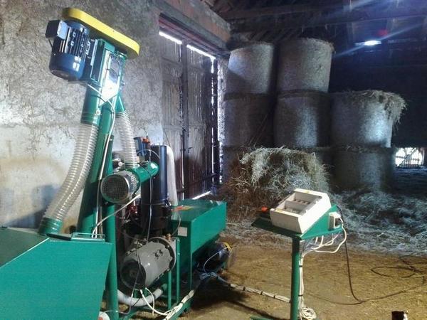 Линии гранулирования  растительной биомассы 3