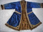 Продам старинные казахские чапаны расшитые золотой тесьмой XIX в