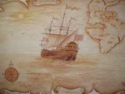 Художественная роспись стен. Портреты,  пейзажи,  цветы. Иконопись.