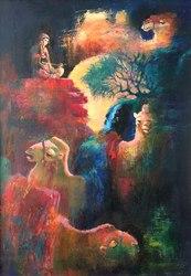 Картина ''Көңіл толқыны''