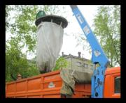 Заглубленные мешки под мусор в Астане - ПК Тексупак